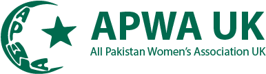 APWA UK – All Pakistan Womens Association UK Logo
